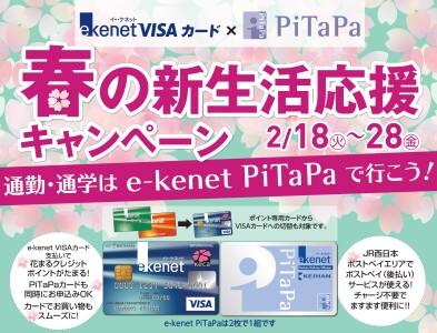 e-kenet VISAカード新規入会キャンペーン