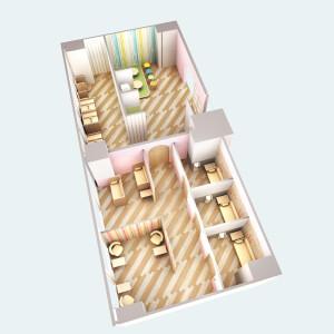 赤ちゃん休憩室(baby room)