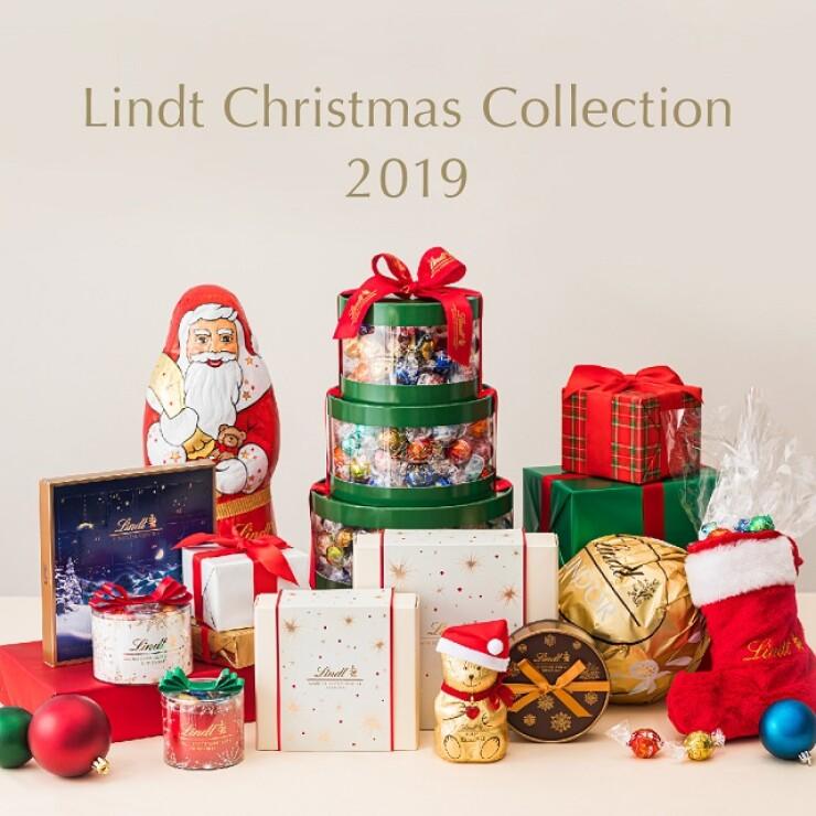 リンツのクリスマスコレクション販売開始!