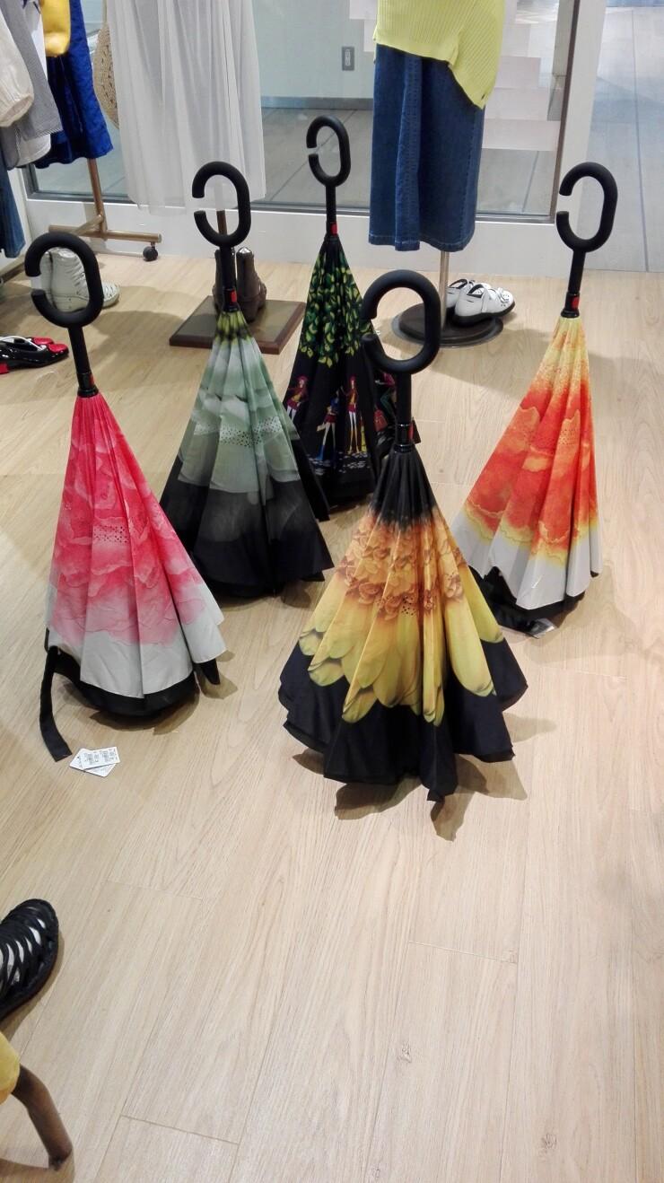 逆さ傘のご紹介です✨